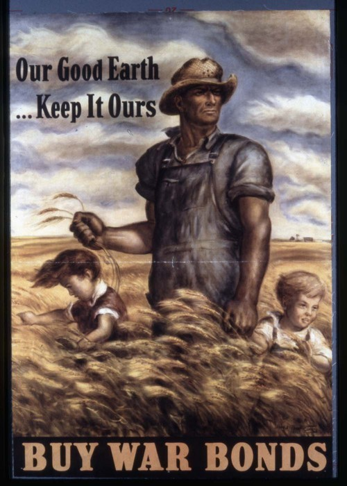 Our good Earth, keep it ours. Buy war bonds - Page