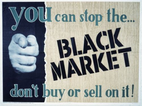 You can stop the black market. Don't buy or sell on it! - Page