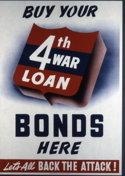 Buy your 4th war loan bonds here - Page