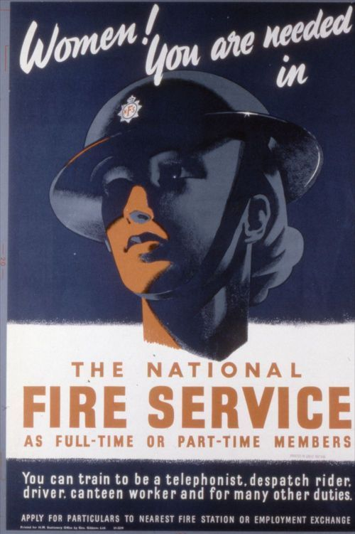 Women!  You are needed in the National Fire Service - Page