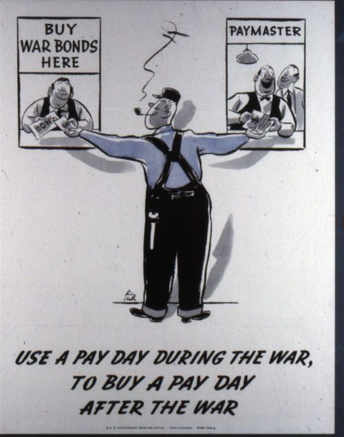 Use a Pay Day During the War, to Buy a Pay Day After the War - Page