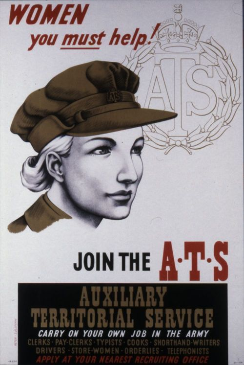 Women you must help!  Join the Auxiliary Territorial Service - Page
