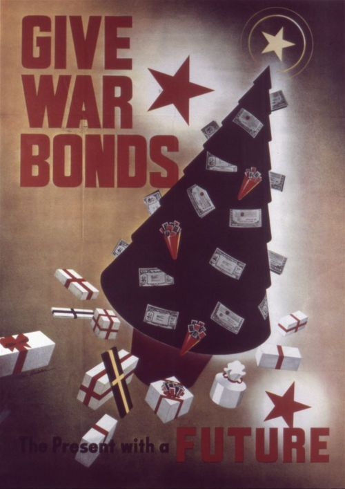 Give war bonds, the present with a future - Page