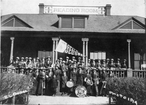 Wellington Girl's Band - Page