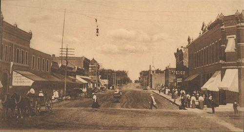 Second Street, Minneapolis, Kansas - Page