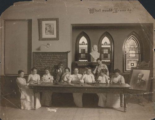 Women working on crafts, Topeka, Kansas - Page