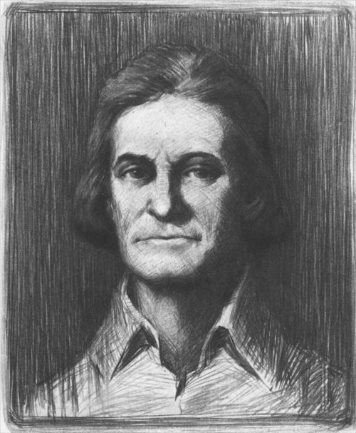 John Brown, drawing by Jerome Stanley Connor - Page