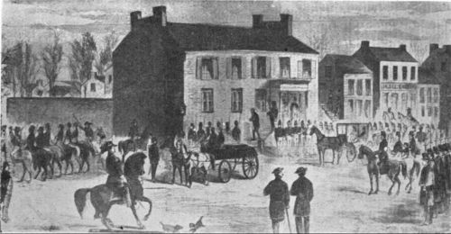 Taking John Brown to the scaffold, Charles Town, West Virginia - Page