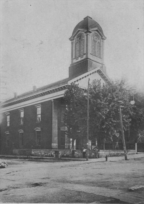 Courthouse in Charles Town, West Virginia, where John Brown's trial was held. - Page