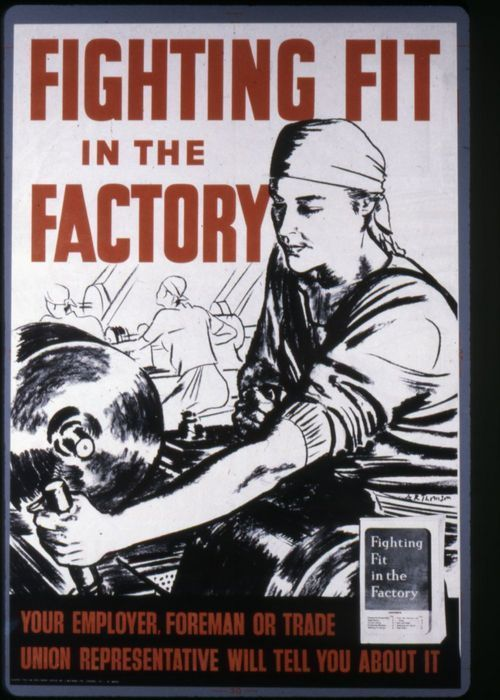 Fighting fit in the factory - Page