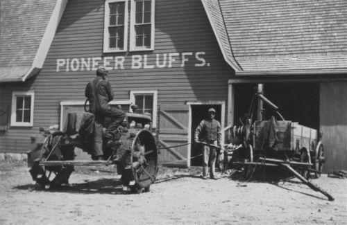 Tractor at Rogler Ranch - Page