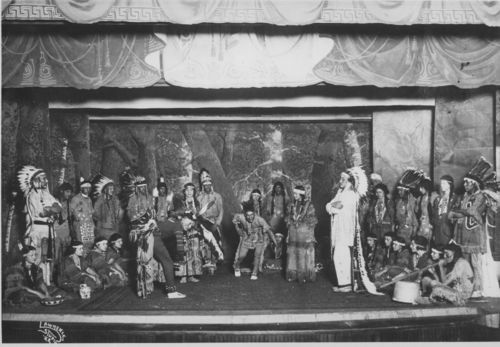 Haskell Institute drama production, Lawrence, Kansas - Page