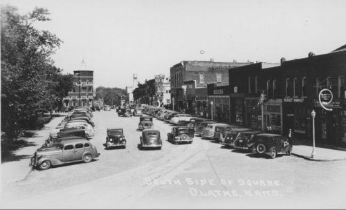 South side of square, Olathe, Kansas - Page