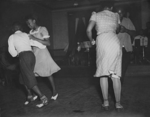 Dancing at a recreation center, Leavenworth, Kansas - Page