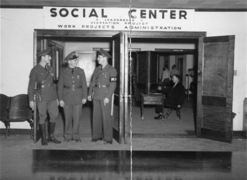 Social center - Page