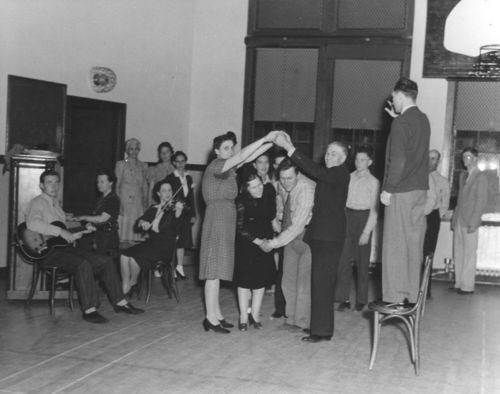 Dancing at a recreation center, Wichita, Kansas - Page