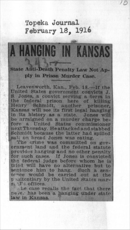 A hanging in Kansas - Page
