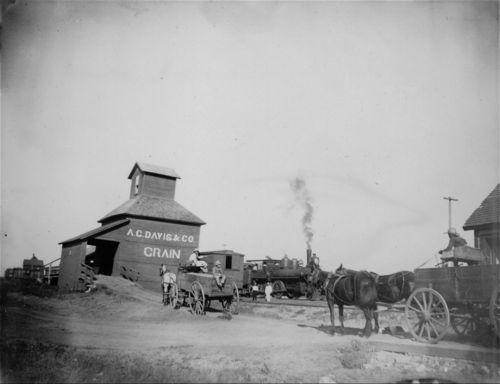 A. C. Davis & Co. grain elevator, Kansas - Page