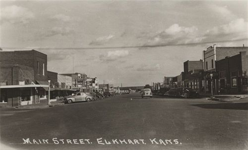 Main Street, Elkhart, Kansas - Page