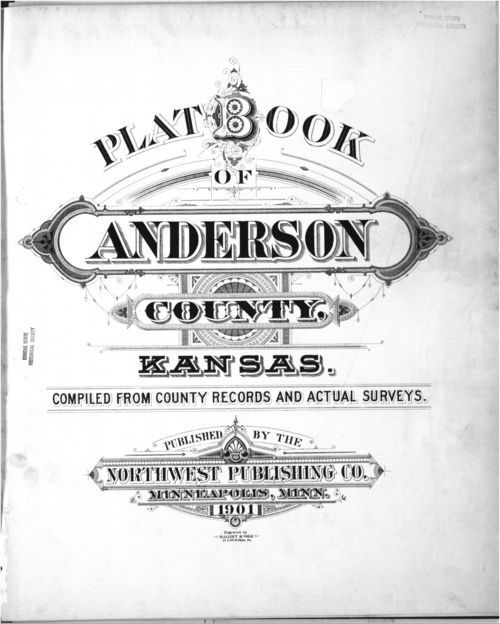 Plat book, Anderson County, Kansas - Page