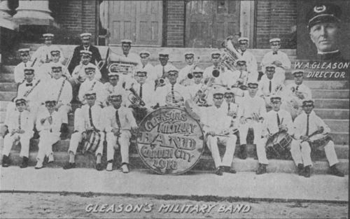 Gleason's Military Band, Garden City, Kansas - Page