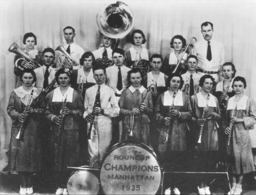 Greeley County 4-H Band, Kansas - Page