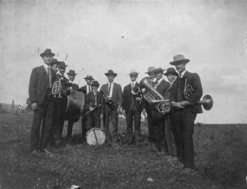 Halfmound Band, Halfmound, Kansas - Page
