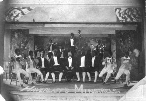 Haverlaff's Minstrels, White Cloud, Kansas - Page