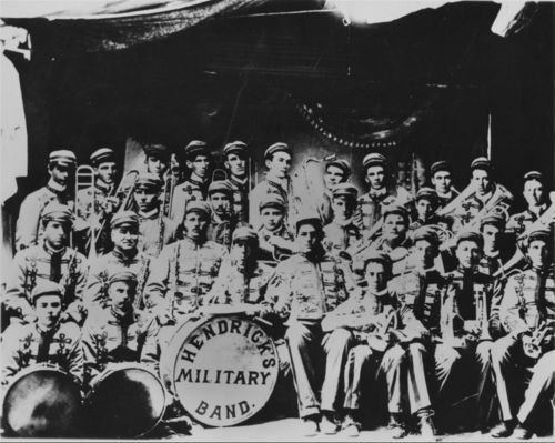 Hendrick's Military Band, Smith Center, Kansas - Page