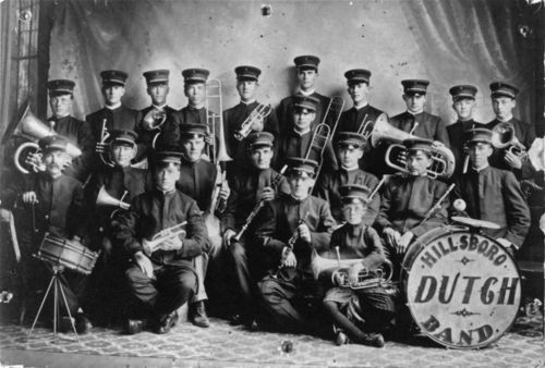 Hillsboro Dutch Band, Hillsboro, Kansas - Page