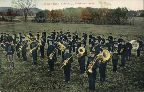 Kansas State Agricultural College Military Band, Manhattan, Kansas - Page