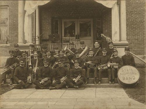 Kansas State Normal College Band, Emporia, Kansas - Page