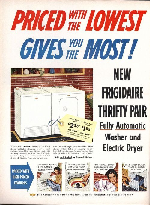 New Frigidaire thrifty pair - Page
