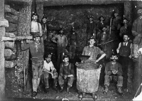 View in the Attie mine - Page