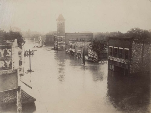 North Kansas Avenue flood, Topeka, Kansas - Page