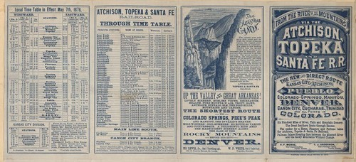 From the river to the mountains via the Atchison, Topeka and Santa Fe R. R. - Page