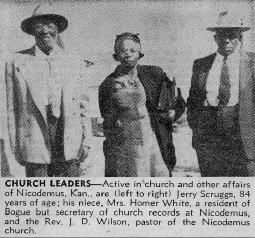 Church leaders of Nicodemus, Kansas - Page