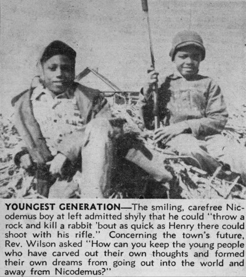 Children from Nicodemus, Kansas - Page
