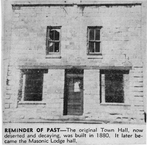 Town Hall in Nicodemus, Kansas - Page
