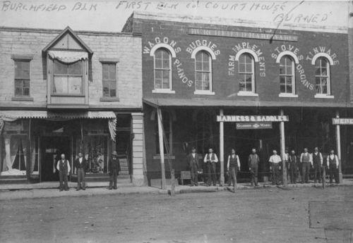 Burchfield block, Howard, Kansas - Page