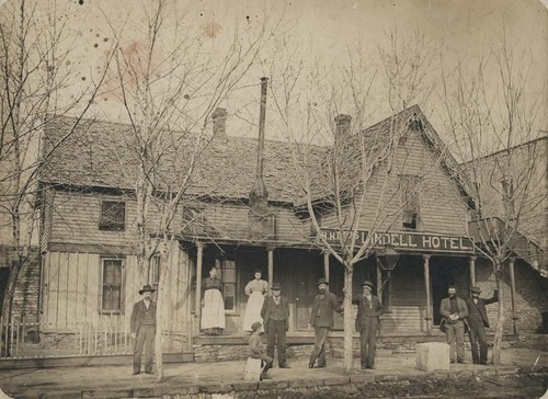H.H. Lindell Hotel, Sedan Kansas - Page