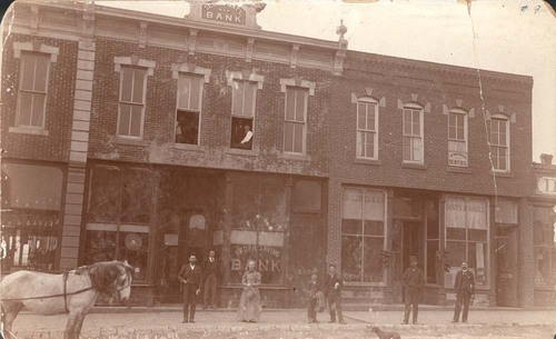 Sedan Bank, Main Street, Sedan, Kansas - Page