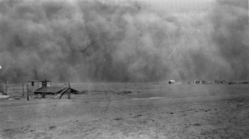 Dust storm, Morton County, Kansas - Page