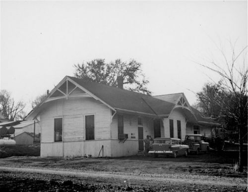 Union Pacific Railroad Company depot, Highland, Kansas - Page
