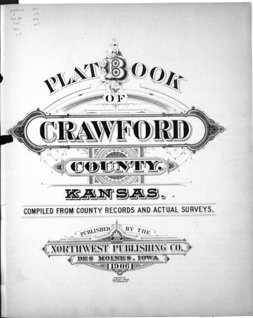 Plat book, Crawford County, Kansas - Page