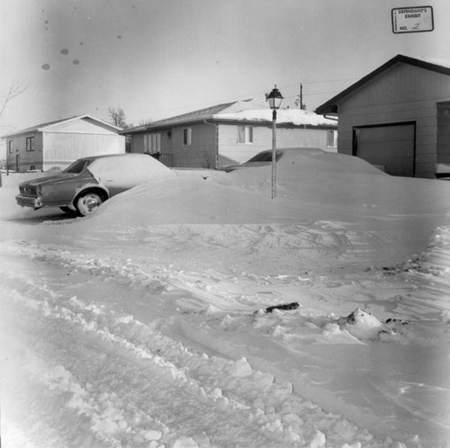 Snow drift, Norton, Kansas - Page