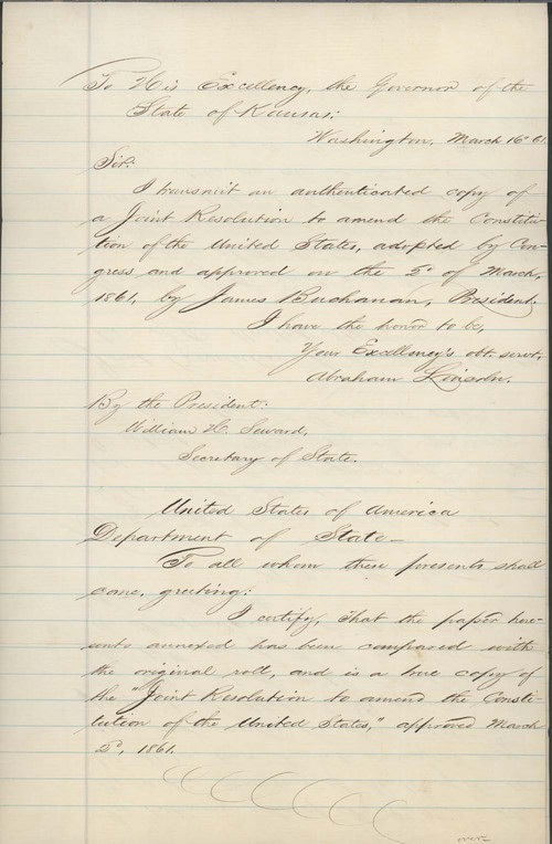 A joint resolution to amend the constitution of the United States - Page