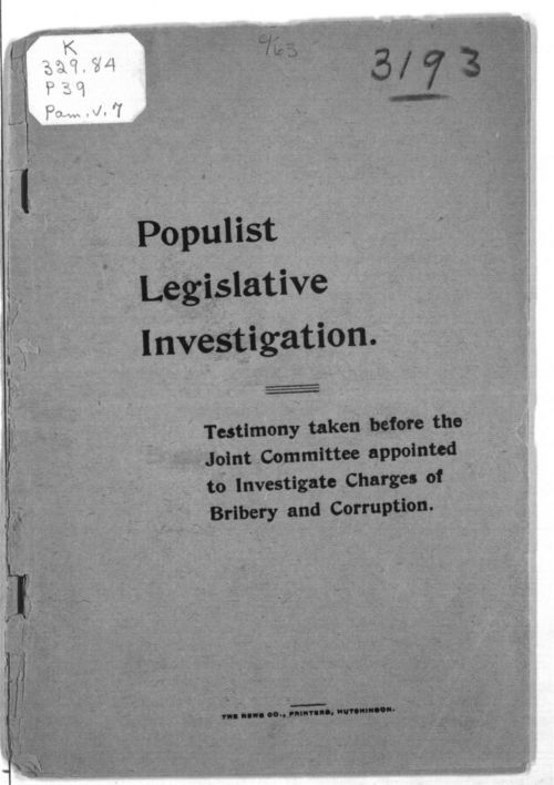 Populist legislative investigation - Page