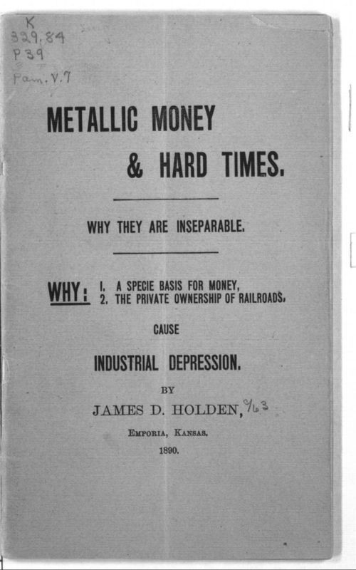 Metallic money and hard times : Why they are inseparable - Page