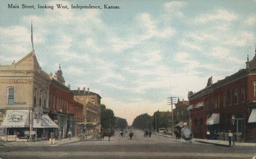 Main Street, Independence, Kansas - Page